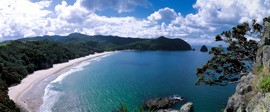 New Chums Beach - photo: Tourism Coromandel
